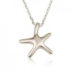 seastar necklace in 925 sterling silver